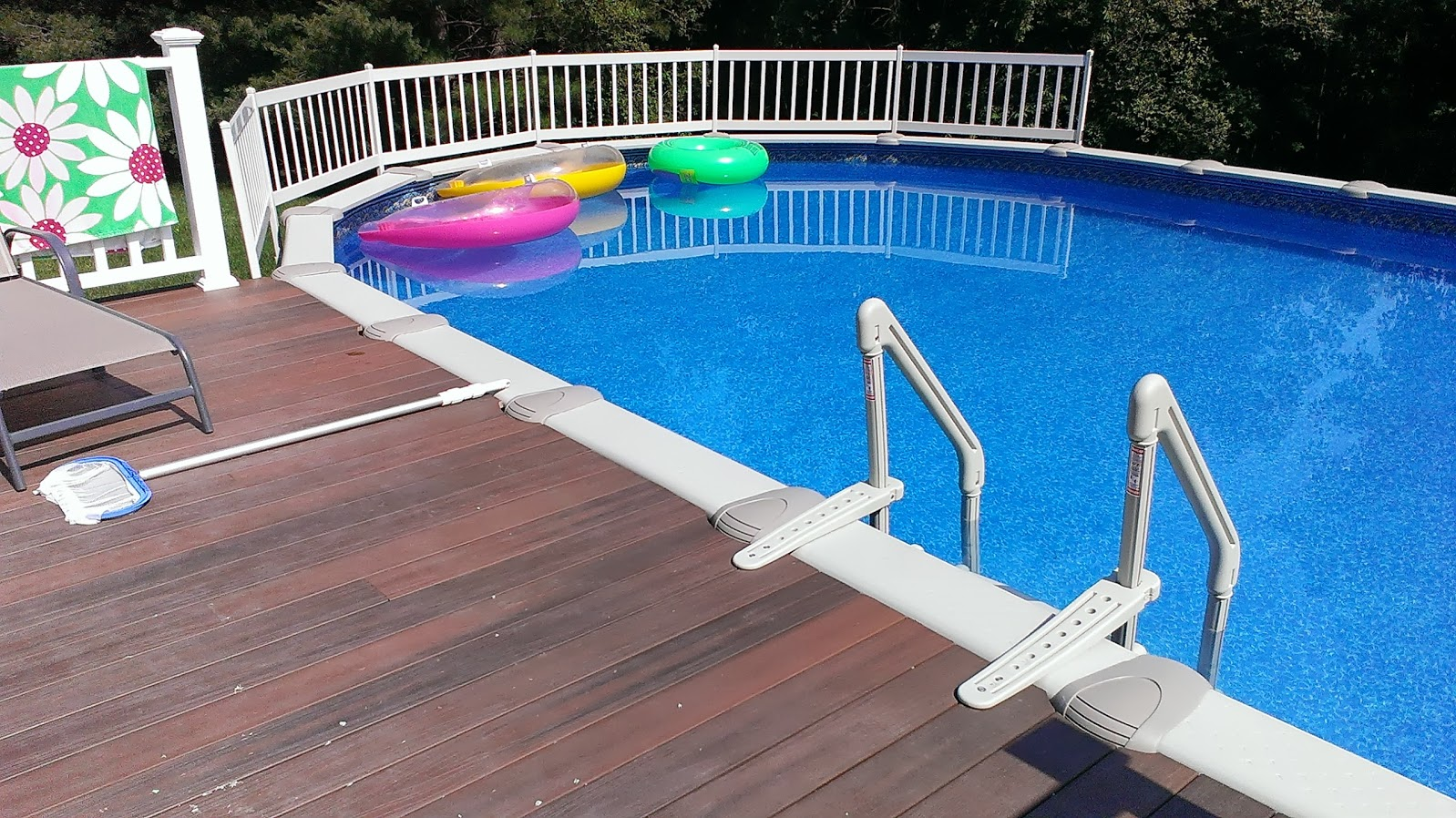 above ground pools ct pool installer pool repair rizzo pools - Intex Above Ground Pool Decks