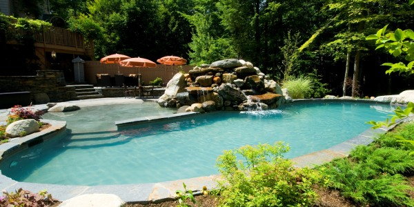 In Ground Pool The Most Popular Choice For Inground Pools Concrete Is Also The Strongest And